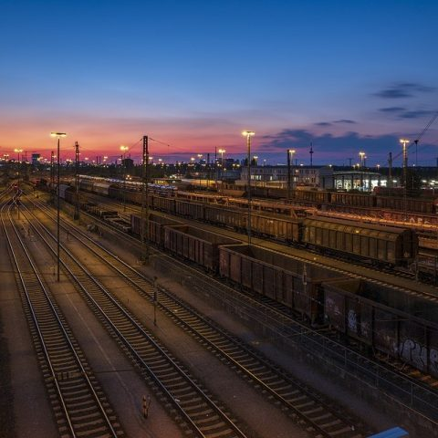 Cargo railway station